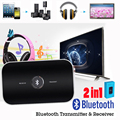 2016 hot 2 in1 Wireless Bluetooth 4.1 Transmitter + Receiver A2DP Stereo Audio Music Adapter Portable Audio Player for TV