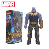 2018 29cm Marvel Toys The Avengers 3 INFINITY WAR Thanos PVC Action Figures TITAN HERO SERIES