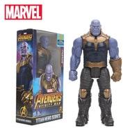 2018 29cm Marvel Toys The Avengers 3 INFINITY WAR Thanos PVC Action Figures TITAN HERO SERIES