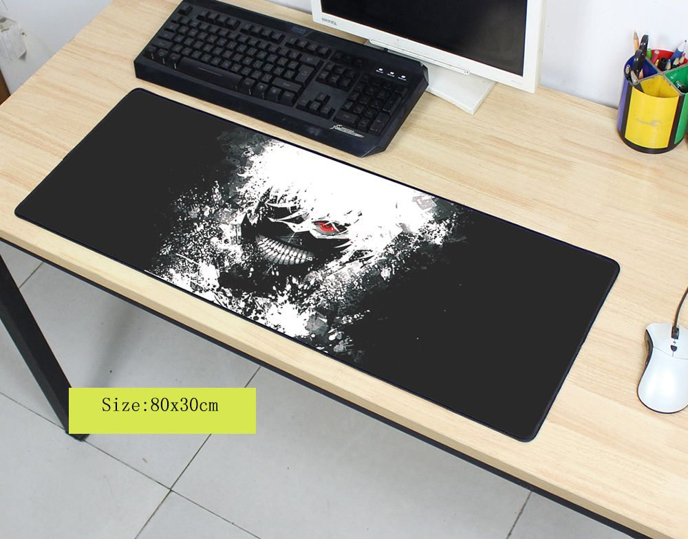 Olwonow Tokyo Ghoul mouse pad large pad to mouse computer mousepad cool gaming padmouse gamer to laptop 800x300x3mm mouse mats