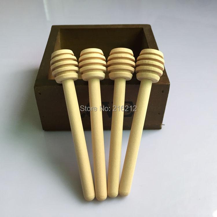 10 x2 5cm New Arrive MINI Wooden Honey Dippers font b Wedding b font font b