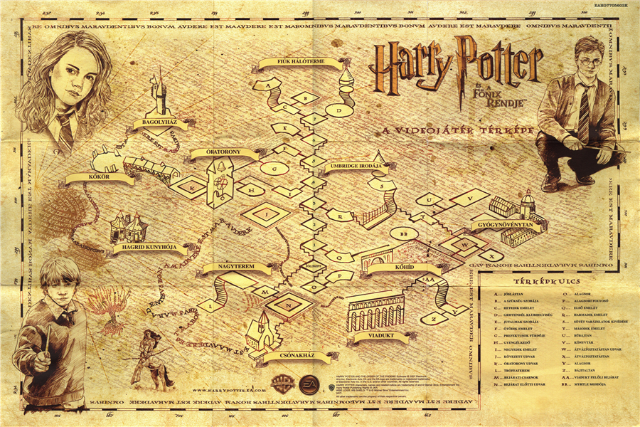 Hogwarts Map Promotion Shop For Promotional Hogwarts Map