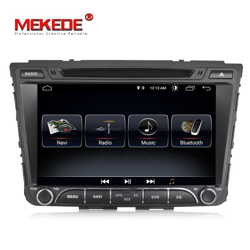 TDA7851 2din Android 8.0 Quad core Car GPS navigation player For Hyundai IX25 CRETA with wifi BT 3G DVD multimedia free shipping
