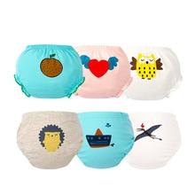 Diapers Underwear Panties Baby-Boy-Girl Summer Newborn Cotton for Animal 3pcs/Lot Potty