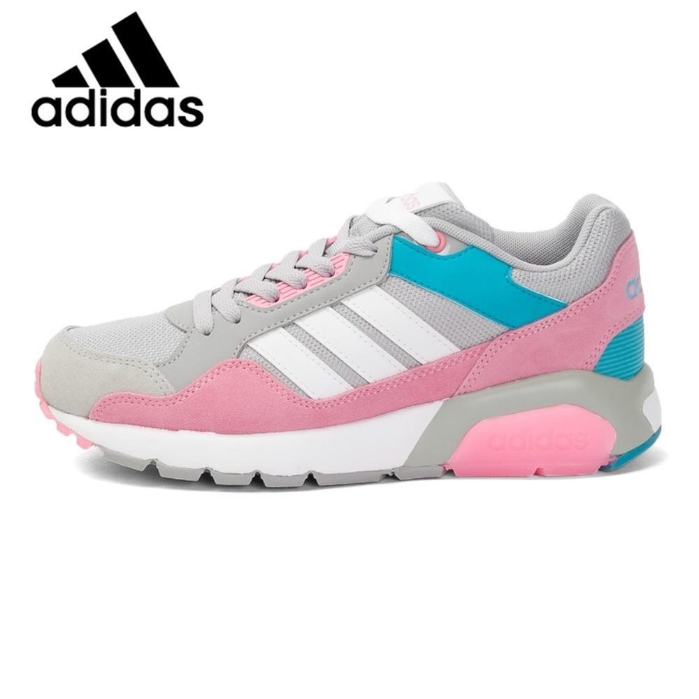 Original Authentic Adidas NEO Label Run9tis W Women's Skateboarding Shoes Sneakers Breathable Anti-Slippery Sneakers Women Cozy original adidas neo run9tis men s skateboarding shoes sneakers