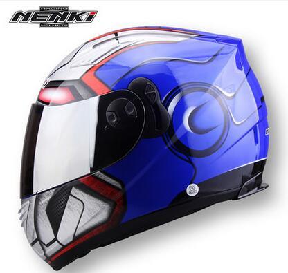 Racing Iron-ManFull Face Motorhelm Winter Spider Heren Dubbele lens - Motoraccessoires en onderdelen - Foto 5