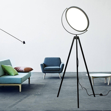 Post Modern Simple Individuality Creative Tripod Floor Lamps diningroom livingroom bedroom black white standing lighting fixture