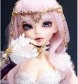 Feliz boneca 1/4 bjd boneca boneca sd Boneca MiniFee Chloe Ametista (olhos livres + livre make up)