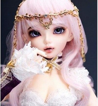 Heureux Améthyste poupée 1/4 bjd poupée sd poupée Chloe Poupée (livraison yeux + gratuit make up)