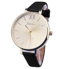 New Fashion Women Bracelet Watch  Roman numberals Women PU Leather Analog Quartz Wrist Watch relojes mujer classical