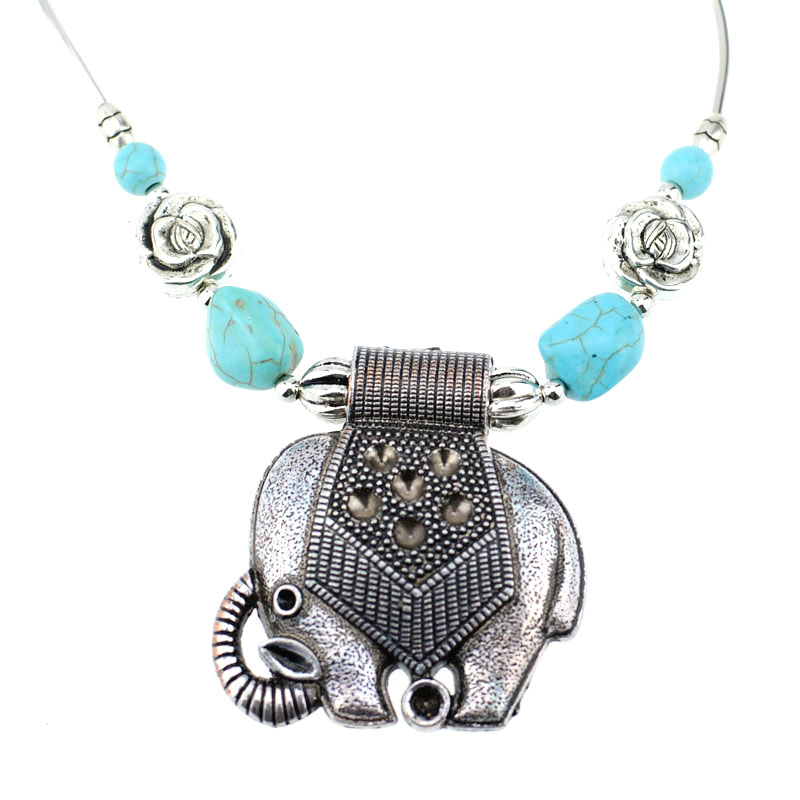 Bohemian Carved Fashion Silver Plated Flower Long Chain Tibetan Vintage Sweater Silver Pendant Necklace Great Christmas Gift rgdpzTk