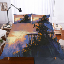 Bedding Set 3D Printed Duvet Cover Bed Octopus Home Textiles for Adults Lifelike Bedclothes with Pillowcase #ZY02