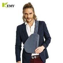 KEMY 2018 New Unisex Men Messenger Bag Chest Pack Brand Design  Style Simple Women Shoulder Cross Body Bags for Ipad