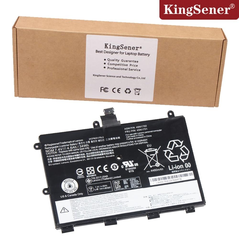 ФОТО Genuine Original New 45N1750 Battery For Lenovo ThinkPad Yoga 11E 45N1750 45N1751 7.4V 4.6Ah/34Wh Free 2 Years Warranty