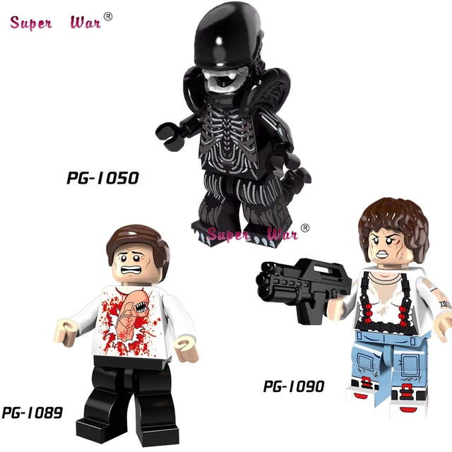 US $0 65 |Single star wars Clone Trooper Christmas Figure Parasite Alien  Ellen Ripley building blocks models bricks toys for children kits-in Blocks
