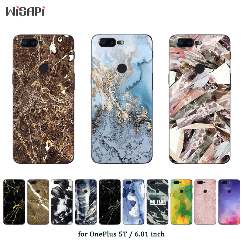 Phone Case for OnePlus 5T Case Marble Printed Protective Back Cover for One Plus 5T Fundas OnePlus5 T Ultrathin Coque Bags