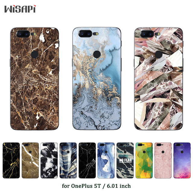 official photos 9931f 24bde US $1.26 42% OFF|Phone Case for OnePlus 5T Case Marble Printed Protective  Back Cover for One Plus 5T Fundas OnePlus5 T Ultrathin Coque Bags-in Fitted  ...