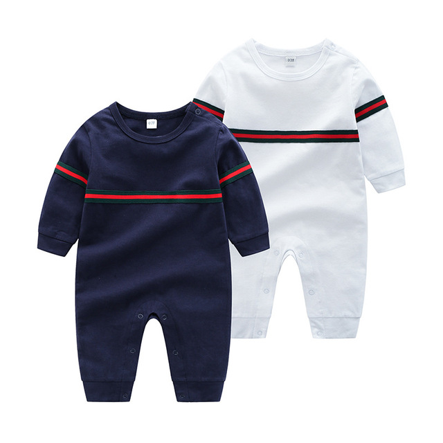 Newest 2019 Spring Autumn toddler christmas baby clothes cotton baby boys girls newborn romper kids Jumpsuits ropa bebe