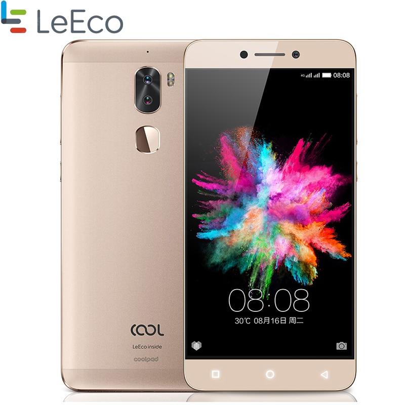 Original Leeco Cool 1 Dual Card Smartphone 5.5'' 3GB RAM 32GB ROM Snapdragon 652 Octa Core 13.0 MP Dual Back Camera 4060mah