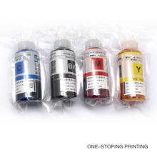 4PCS 70ML Refill ink For Epson L100 L200 L211 L301 L303 L351 L358 L551 L558 L355 L80 Artisan 50 R380/R260/R280/R265/R360 Printer