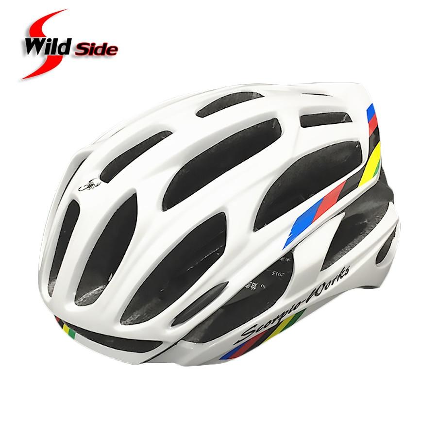 Jauns riteņbraukšanas ķivere Road MTB velosipēdu velosipēds Ultraskaņas ķiveres 220g ar LED brīdinājuma gaismām Casco Ciclismo Bicicleta Bici 11 krāsas