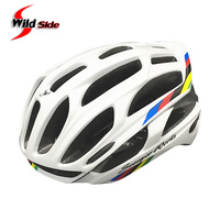 New Cycling Helmet Road MTB Bicycle Bike Ultralight Helmets 220g With LED Warning Lights Casco Ciclismo