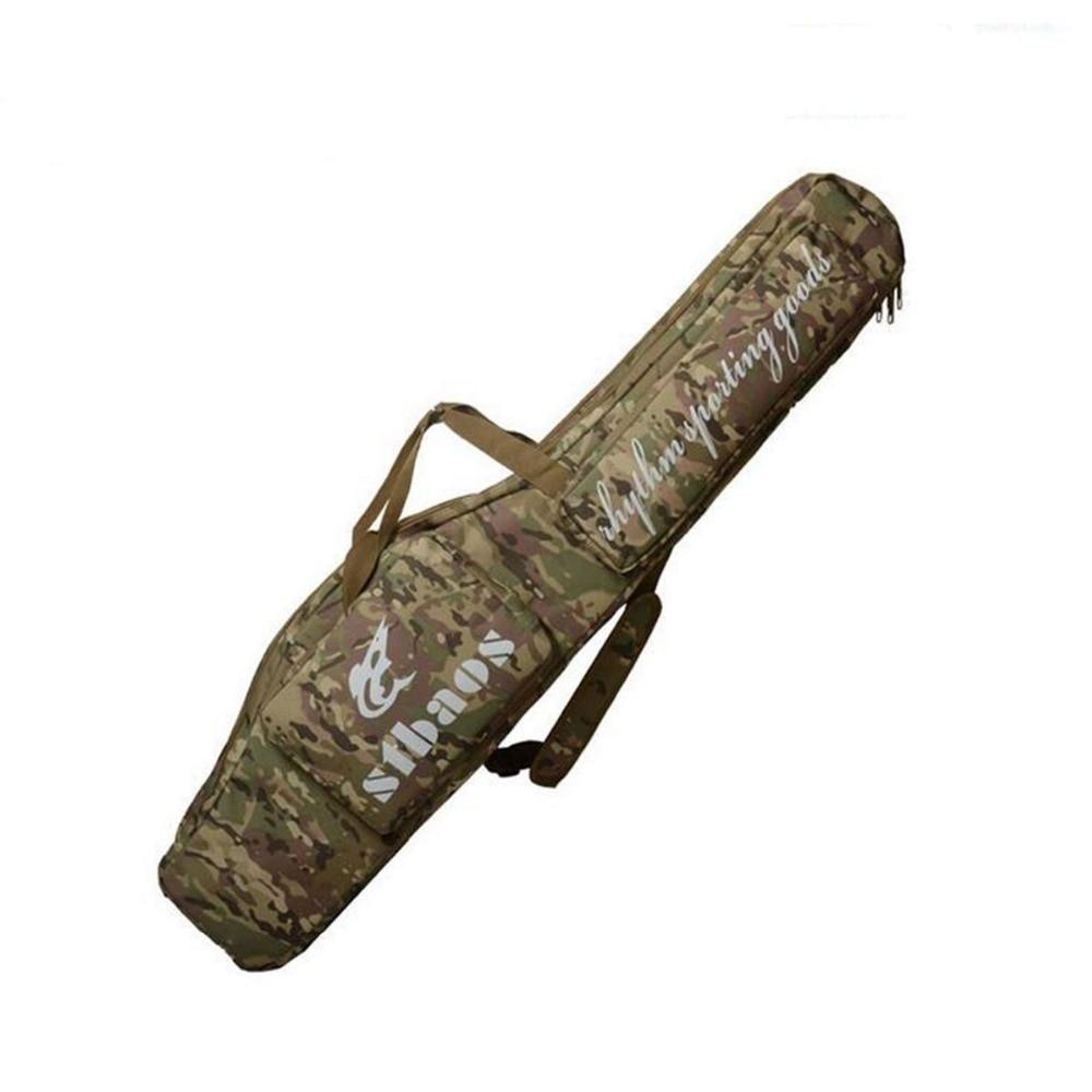 """4"""" тактический охотничий кейс Ручной Чехол 1,2 м длинный черенок винтовки двойной охотничий рыболовный рюкзак сумка"""