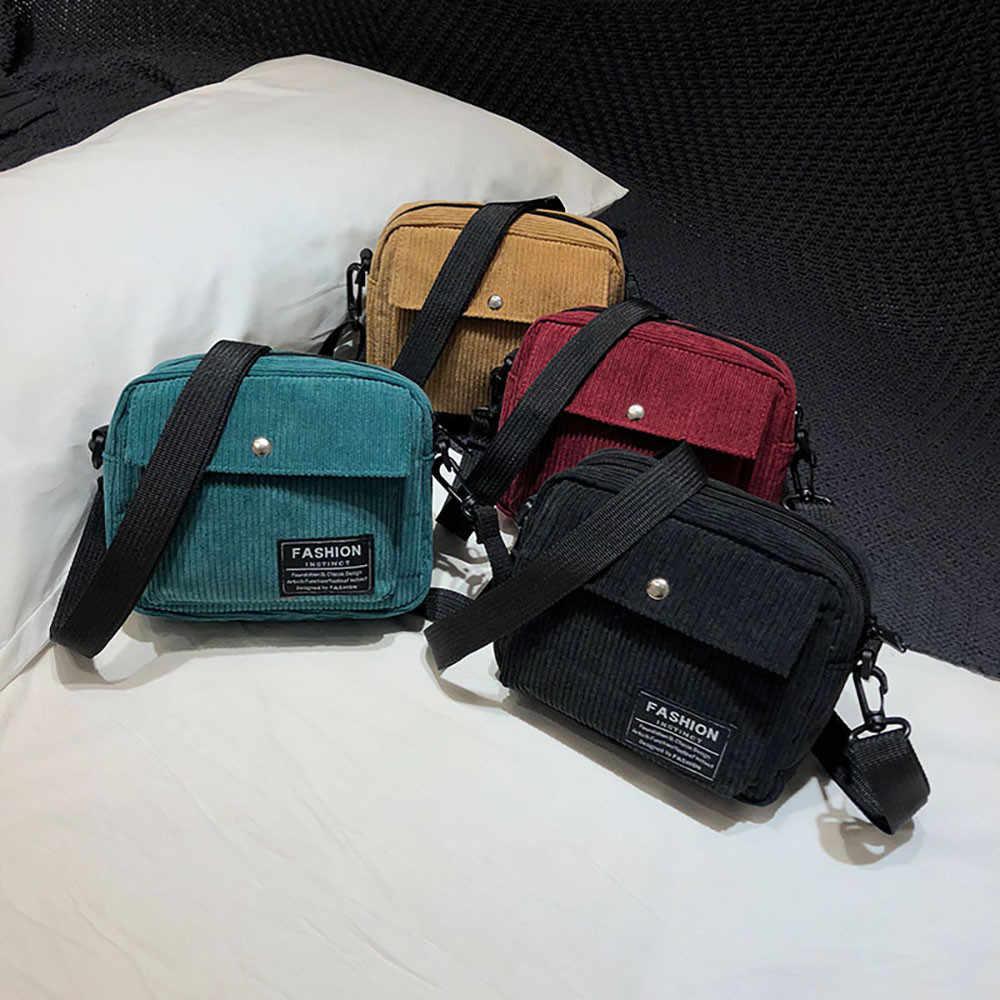 Kadın tuval tek omuz askılı çanta askılı çanta küçük kare çanta kadife çanta les keseleri des femmes #25