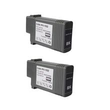 2 Matte Black PFI-102 130 ml voll dye tinte für Canon Drucker iPF 500/510/600/605/610/700/710/720/760/650/655/750/755