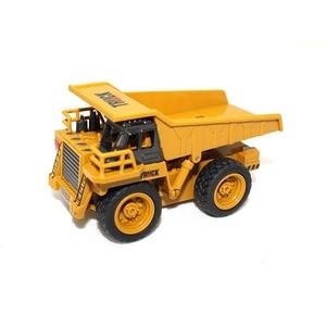 Image 2 - Rcトラック1:64リモートコントロール建設車のミニショベルシミュレーションモデルエンジニアリング車掘りおもちゃクレーンブルドーザー