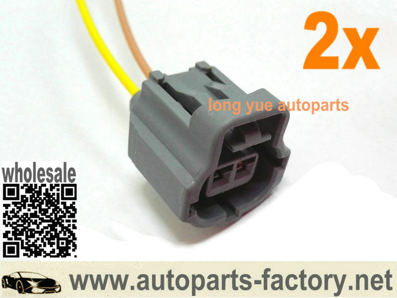 Toyota 3 Pin ECT CLT Coolant Temp Sensor plug pigtail wire connector