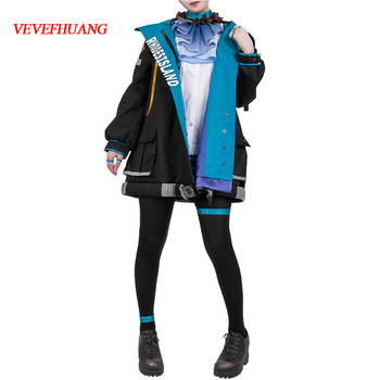 VEVEFHUANG CosplayLove Hot Game Arknights EXUSIAI KALTSIT AMIYA Uniform Cosplay Costume For Girls Women Christmas Halloween 1