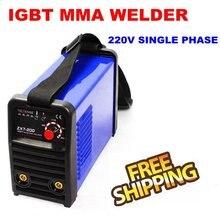 MMA 200A Inversor IGBT DC máquina De Soldadura 220 v zx7200 envío libre