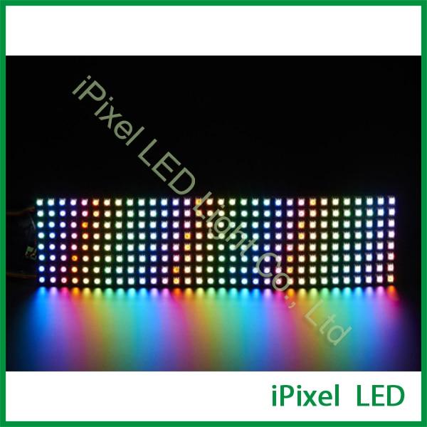 RGB LED light Matrix ws2812b flexible screen panel apa102 flexible led panel matrix newest screen flexible bendable ip20 apa102 rgb led matrix 256leds pcs