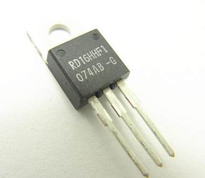 1 pces rd16hhf1 rd16hhf1 ~ 100% novo original! Transistor de potência mosfet [30 mhz, 16 w] substituído 2sc3133 2sc1945 2sc