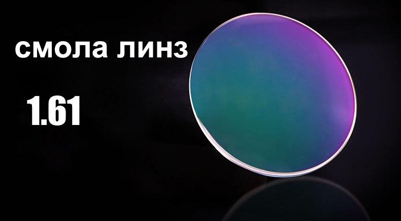 Resin lens 1.61