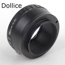 Dollice wynik NEX adapter obiektywu pierścień garnitur dla nikon obiektywu, aby dla sony E górze NEX kamery