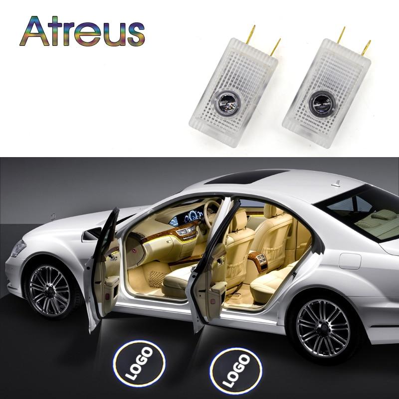 Atreus 1Pair LED Courtesy İşıqlar 12V Avtomobilin qapısına xoş - Avtomobil işıqları - Fotoqrafiya 1
