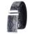 HIMUNU 2016 Cinturón De Serpiente para Los Hombres hebilla Automática Correa de Cuero Genuino Nueva Hot Mens Ceinture Cinturones de Lujo de la alta Calidad