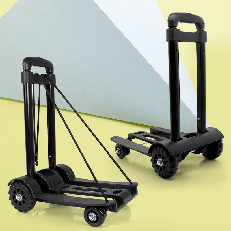 Portable luggage drag folding bucket water trolley pull goods accessories trolley bag holder home grocery shopping cartPortable luggage drag folding bucket water trolley pull goods accessories trolley bag holder home grocery shopping cart