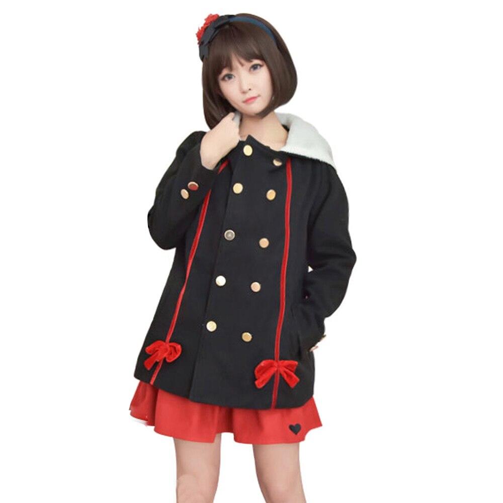 owari no seraph krul tepes cosplay costume vampire devil black overcoat windbreaker hoodie cloak halloween costumes - Halloween Costumes Vampire For Girls