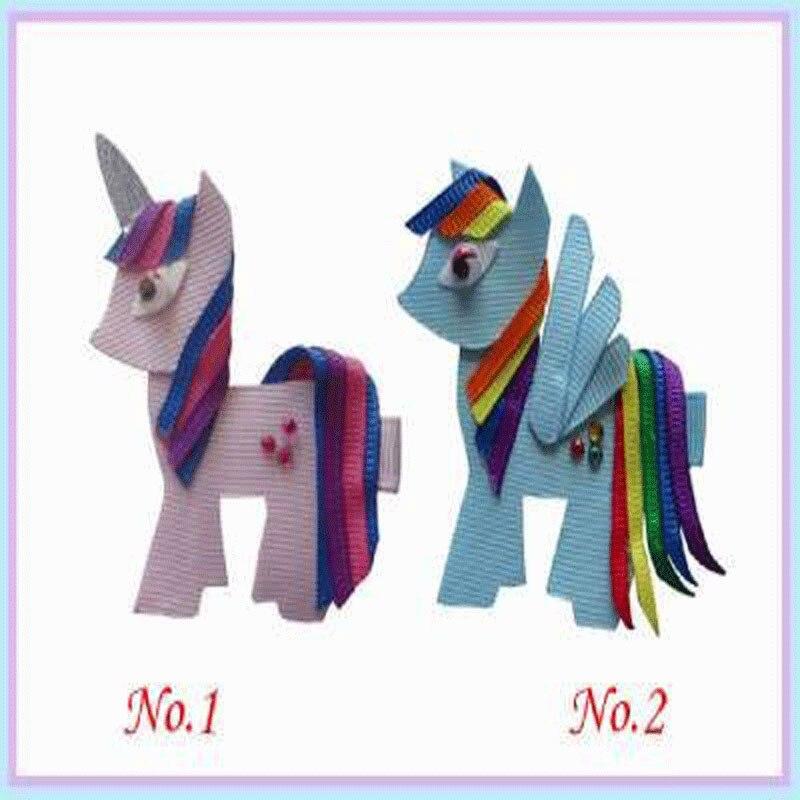 200 pièces nouveau style bénédiction bonne fille Bug Clip petit poney Minions hippopotame Robot monstre
