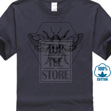 d0a7b3d3 Men T Shirt Pen Ink Bee Tattoo White Tshirt Natural Cotton Brand Tops &  Tees Funny