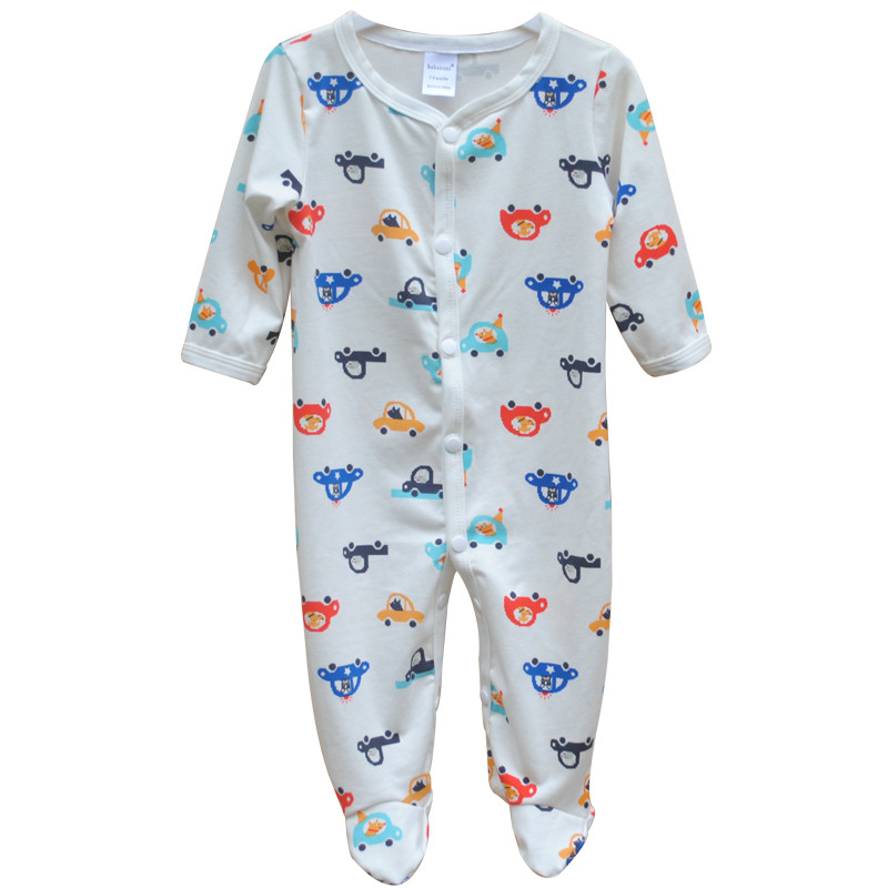 Brand Newborn Baby Clothes Cute Cartoon Baby Costume Girl Boy Jumpsuit Clothing Spring Autumn Cotton Romper Body Baby Clothes 9