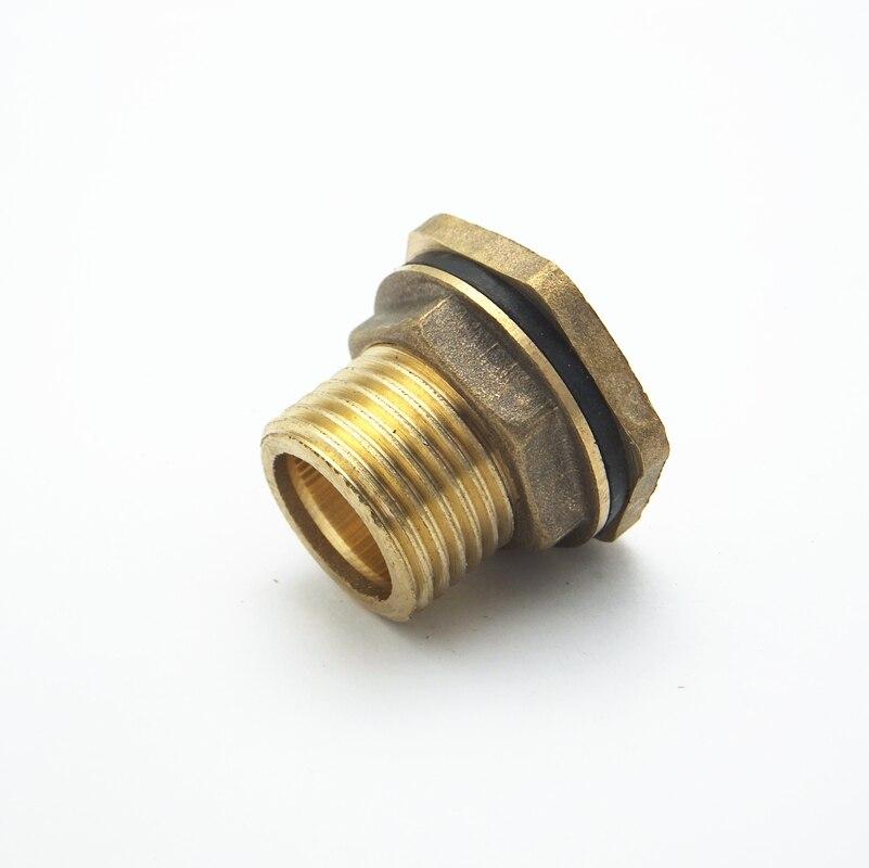 1/2 bsp Male Messing Rohr Einzigen Lose Key Swivel Überwurfmutter Wassertank Jointer Anschluss Mild And Mellow Rohrverbindungsstücke Sanitär