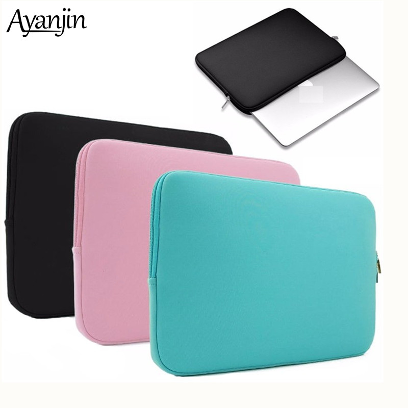 2019 Liner Sleeve Case For Apple Macbook Air Pro Retina 11 12 13 15 For Dell Xiaomi Notebook 14 15.6 Computer Cover Laptop Bag