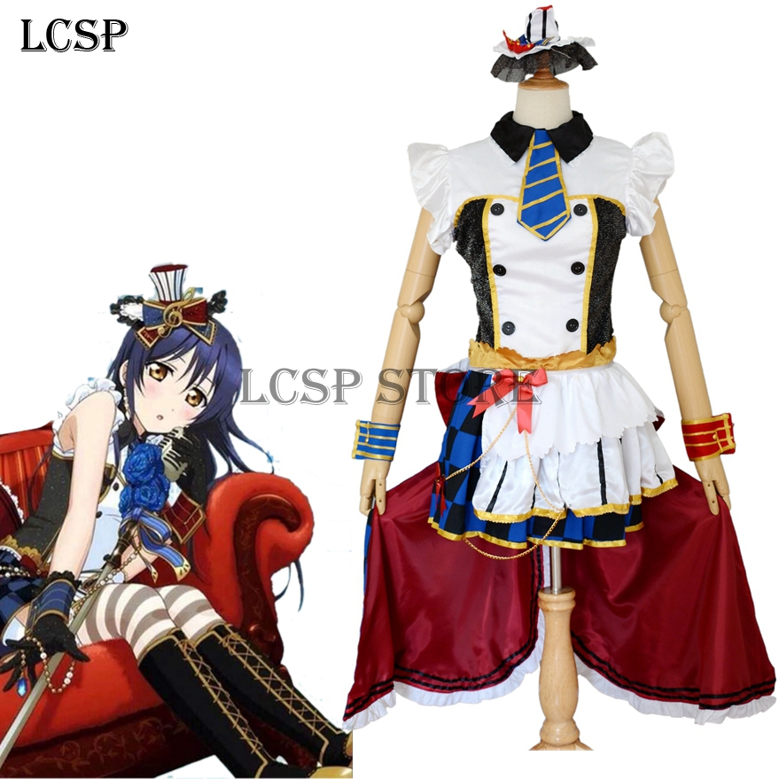 LCSP LoveLive! Coffee Shop Sonoda Umi Cosplay Costume ...