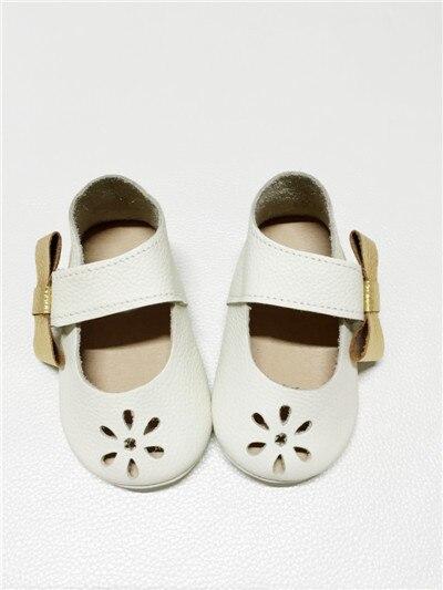 Высокое Качество Натуральная Кожа Первый Ходунки Детские мокасины обувь Девушки Прекрасная Принцесса Лук Узел Обувь Бесплатная доставка