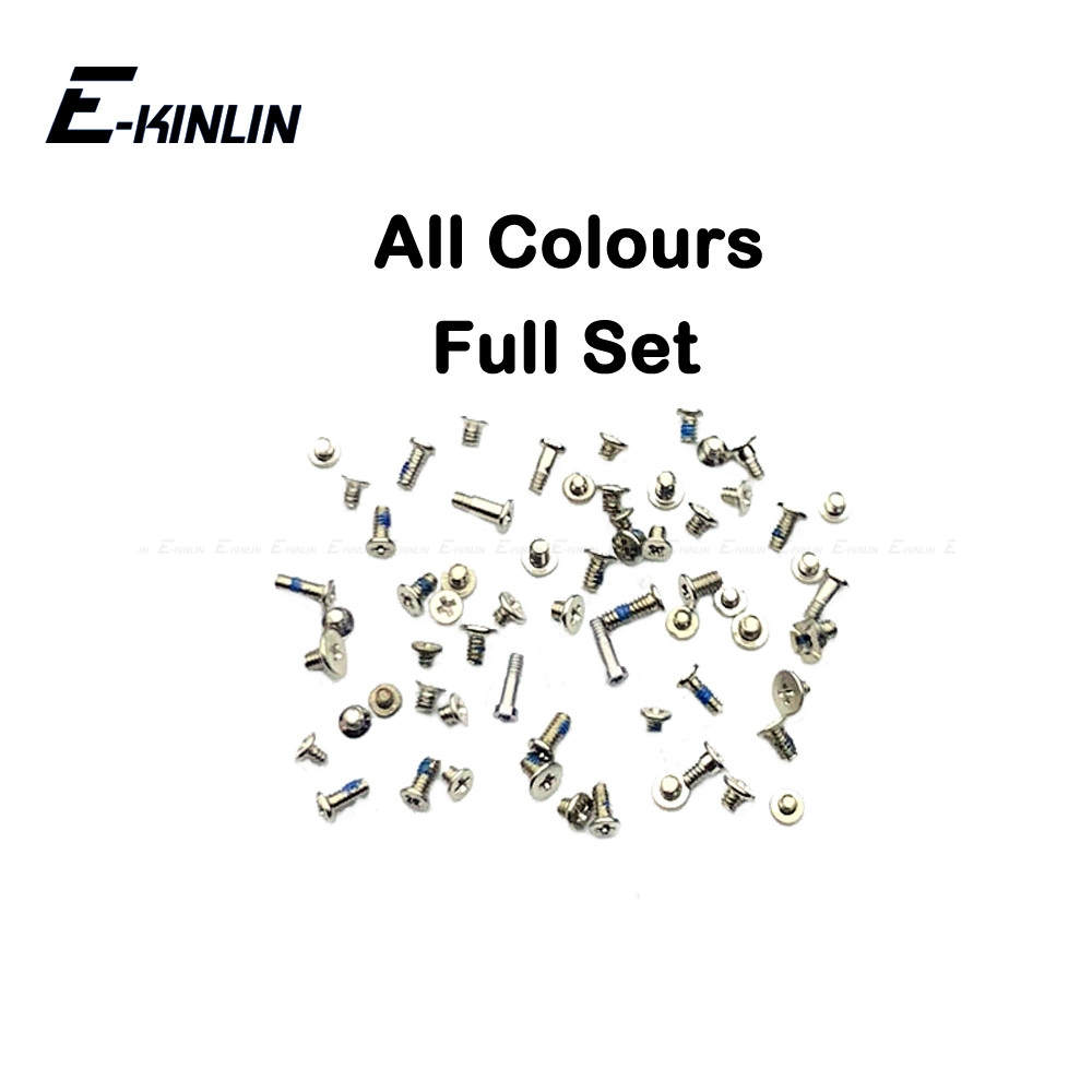 Complete Full Screws Screw Set For IPhone 6 6S Plus With Plug Bottom Dock Replacement Parts