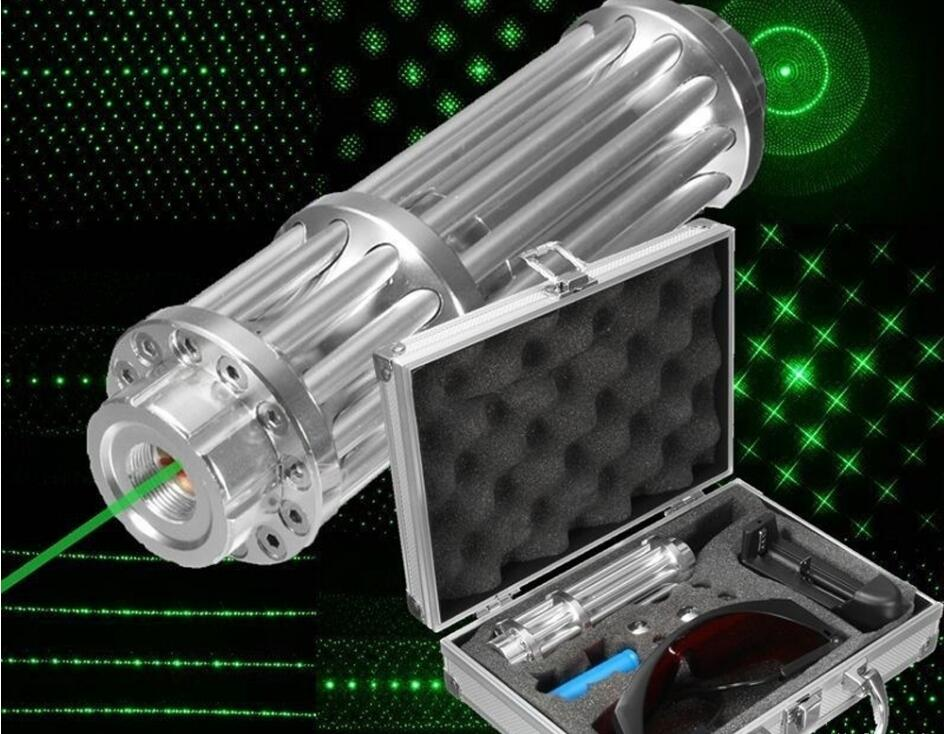 Burning Tactical Lazer 532nm Green Laser Pointer Powerful Military Sight 8000m Focusable lazer Burn Match